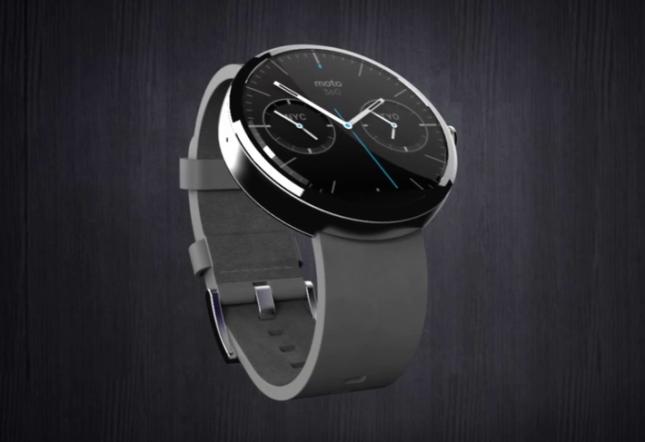 Часы под управлением Android Wear