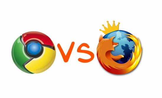 Mozilla vs. Chrome