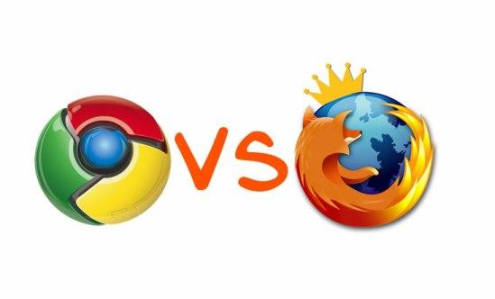 Mozilla vs. Chrome