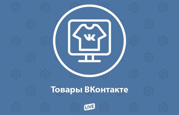 "Раздел ""Товары ВКонтакте"""